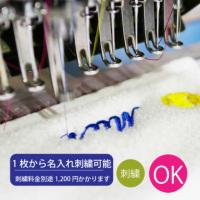 アディダス ハンドタオル 【レジスタ】刺繍