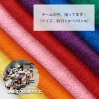 チームカラータオル 名入れ刺繍