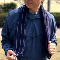 オトコのマフラースポーツタオル8strings(今治タオル) 名入れ刺繍