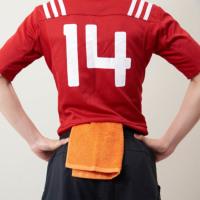 勝負のカラーモッパータオル(泉州タオル) 名入れ刺繍