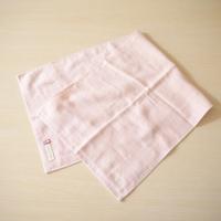 ガーゼ&パイル リバーシブルフェイスタオル(今治タオル) 名入れ刺繍