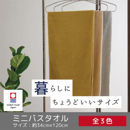 ミニバスタオル【まいにちのタオル】(今治タオル)