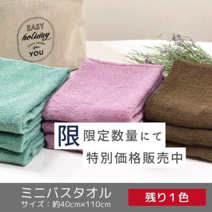 【限定数量特価】ミニバスタオル